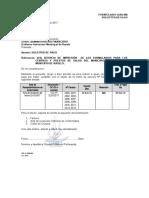 FORMULARIO SABS-06 SOLICITUD FORMULARIOS GESTION 2017