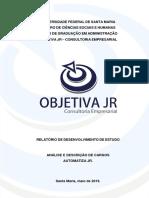 RELATÓRIO FINAL - AUTOMATIZA JR