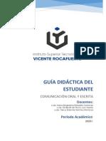 GUIA COMUNICACION ORAL Y ESCRITA