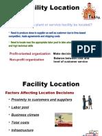 04. Facility Location