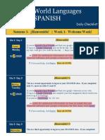 Daily Checklist - Week 1 Updated.docx