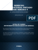 Derecho Internacional Privado Clase 5