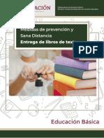 Anexo 3_Medidas Sana distancia para la entrega de libros de texto Agosto 12