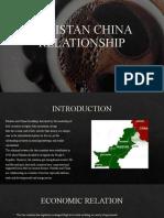 PAKISTAN CHINA RELATIONSHIP