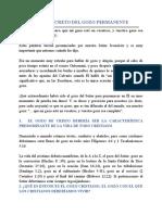 06- (04062020) Estudio 6 EL SECRETO DEL GOZO PERMANENTE