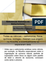 Referencial Histórico Do Behaviorismo