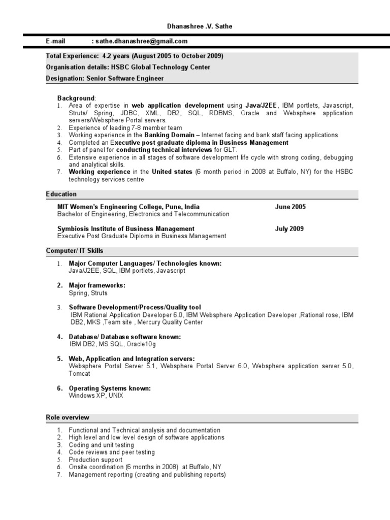 Comfortable Ibm Websphere Process Server Resume Pictures Inspiration ...