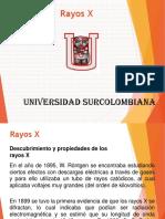 Clase 6. Rayos X