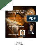 EL PROCESO POR COLABORACION EFICAZ EN EL PERU