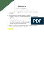 Cuestionario Arquitectura de Software