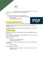 Apuntes de derecho penal general - conducta