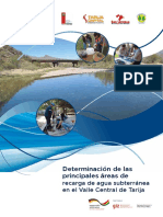 Determinación áreas de recarga agua subterránea Tarija_2020 PERIAGUA