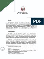 Resolución OEFA