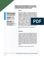 Minifábricas de Processamento de Castanha de Caju Sob a Ótica Da Nova Economia Institucional