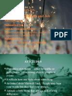 Presentation on Attitudes and Job Satisfaction