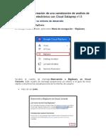 Exploración y creación de una canalización de análisis de comercio electrónico con Cloud Dataprep v1