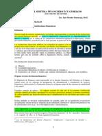 Análisis SISTEMA FINANCIERO ECUATORIANO