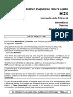 ED3 Primaria Matemáticas y Ciencias 2013 (1)