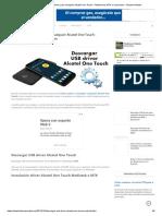 Descargar USB driver para cualquier Alcatel One Touch - Plataformas MTK o Qualcomm - Flashear Mobile