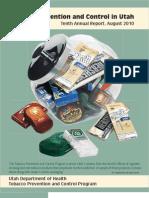 Tobacco Prevention and Control, 10th Annual Report