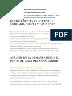 ACT 6 OFERTA Y DEMANDA