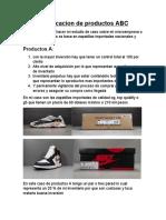 Clasificacion de productos ABC.docx