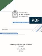 ejercicios investigacion de operaciones 1A