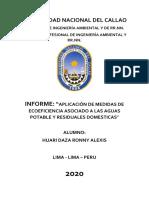 INFORME DE ECOEFICIENCIA -MB