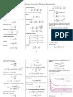 Formulario Resumen Convección Relaciones Adimensionales