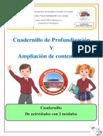 CUADERNILLO PROFUNDIZACIÓ  Cs. Naturales