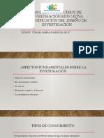 Tema 1 MODELOS Y PROCESOS DE INVESTIGACIÓN EDUCATIVA