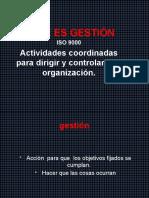 CAPITULO 5 GESTION Que es gestión y como se gestiona [Autoguardado]
