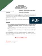 5º.III P.  Guía NO. 2 actividades  grado 5ºB,   ingles Segundo desempeño