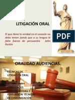 CLASE 1 LITIGACIÓN ORAL
