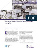World War II in the Pacific and the Impact on the U.S. Navy