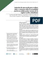 Presentación de una escala para evaluar creencias.pdf