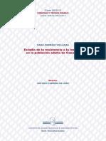Estudio de la resistencia a la insulina en la poblacion adulta de canarias