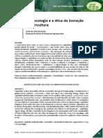 SOUZA-Agroecologia e a ética da inovação na agricultura, Revista REDES da Unisc