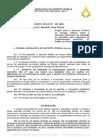 PL para desconto tarifário de energia para usuários de oxigenoterapia domiciliar é aprovado por Comissão na CLDF