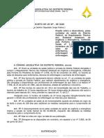 Comissão de Educação, Saúde e Cultura da CLDF aprova PL de Jorge Vianna que garante local para descanso para Enfermagem