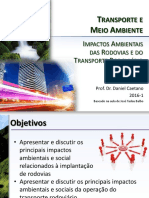 PTR2388 - Aula 06a - ImpactosAmbientaisDaRodoviaEDoTransporteRodoviario_2016