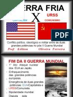 Guerra Fria 3º ano do Ensino Médio