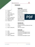 0.02 Programa Retiro Francisco de Asis