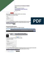 Instrucciones de Instalación Matlab