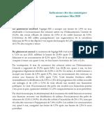 Indicateurs clés des statistiques monétaires - Mai 2020