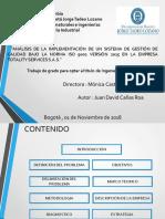 ISO 9001 2015 TRABAJO DE GRADO