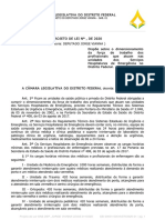 Projeto de dimensionamento mínimo de PL de Jorge Vianna é aprovado pela Comissão de Educação, Saúde e Cultura da CLDF