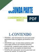 INVESTIGACIÓN--Herrmientas de La Wiki!!!!