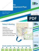 Collier County Transit Development Plan Presentation for Marco Island - Aug. 17, 2020
