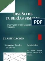 6. DISEÑO DE TUBERIAS SIMPLES.pptx